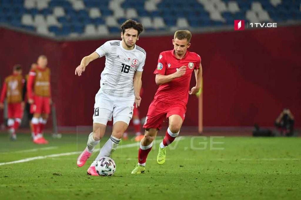 Historic victory: Georgia - Belarus 1:0