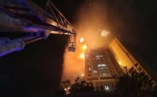 სამხრეთ კორეის ქალაქ ულსანში ცათამბჯენს ცეცხლი გაუჩნდა, დაშავდა ასობით ადამიანი