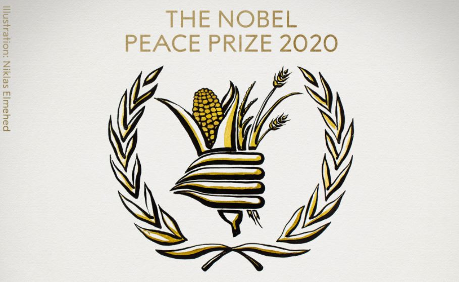 მშვიდობის დარგში ნობელის პრემიის ლაურეატად მსოფლიო სასურსათო პროგრამა გამოცხადდა