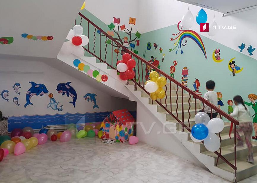 კორონავირუსის შემთხვევების გამო, თბილისში რამდენიმე საბავშვო ბაღი დროებით დაიხურა