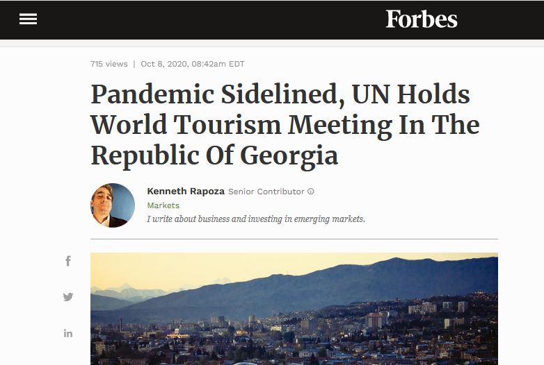 """""""ფორბსი"""" - საქართველოს სურს """"ციფრული აბრეშუმის გზის"""" პროექტის განხორციელება, რომელიც საქართველოს გავლით ერთმანეთთან დააკავშირებს ევრაზიის უმსხვილეს ბაზრებს"""