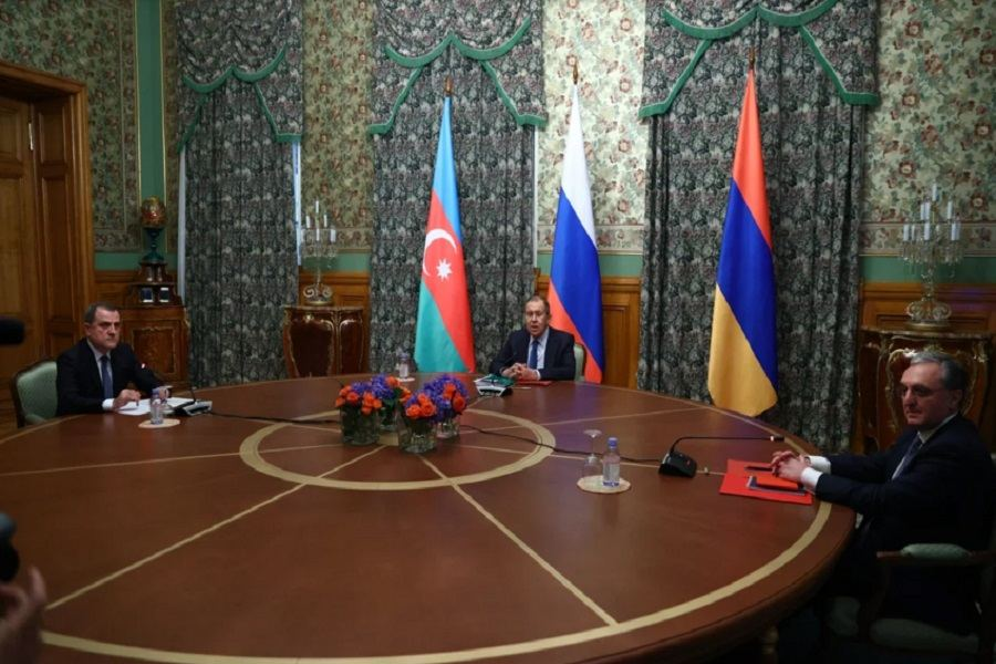Russia Brokers Humanitarian Ceasefire between Armenia and Azerbaijan