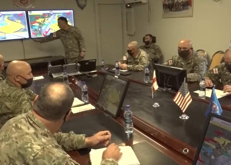 Командующий восточной группировки сил обороны Грузии посетил с рабочим визитом Афганистан