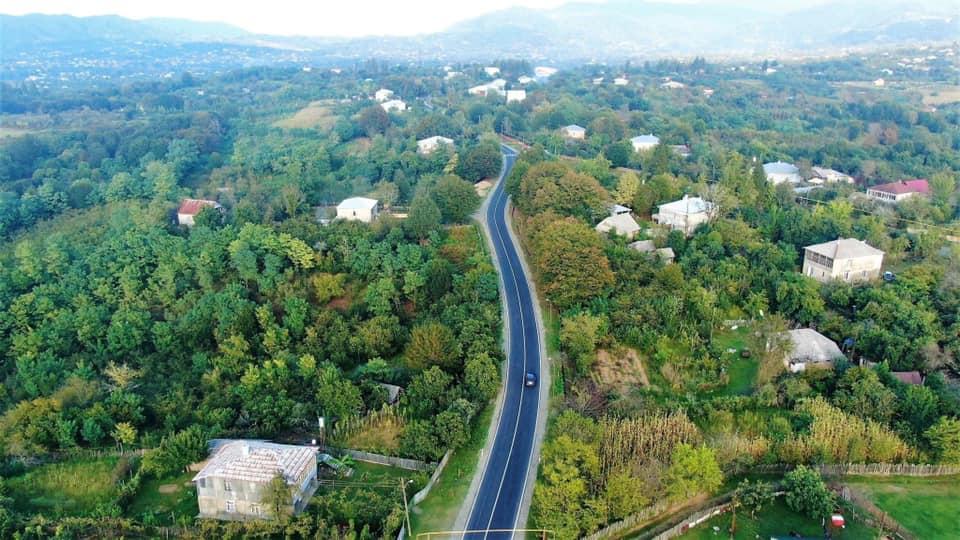 ჩოხატაური-ბახმაროს გზის 6.3 კილომეტრიანი მონაკვეთის შეკეთება დასრულდა