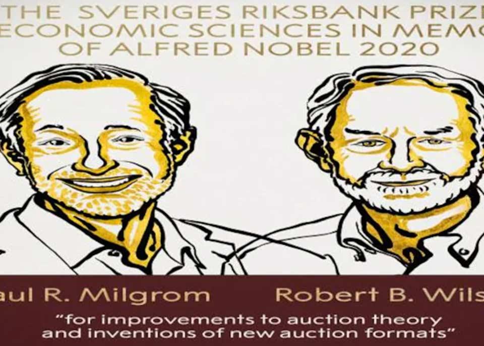 ეკონომიკის დარგში ნობელის პრემიის ლაურეატები ამერიკელი მეცნიერები, პოლ მილგრომი და რობერტ უილსონი გახდნენ
