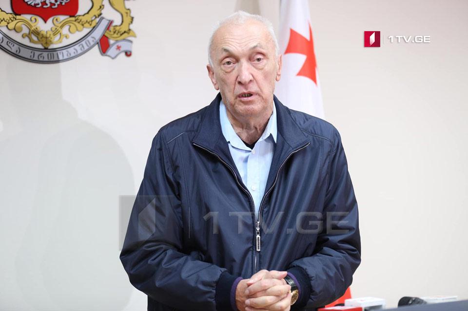 Tengiz Tsertsvadze: Georgia will receive Remdesivir from October 25-30