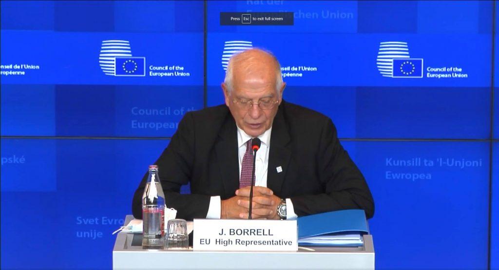 ევროკავშირის საგარეო საქმეთა მინისტრების შეხვედრაზე მთიანი ყარაბაღის კონფლიქტზე იმსჯელეს