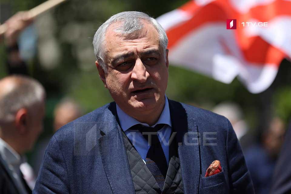 Mamuka Khazaradze contracts coronavirus