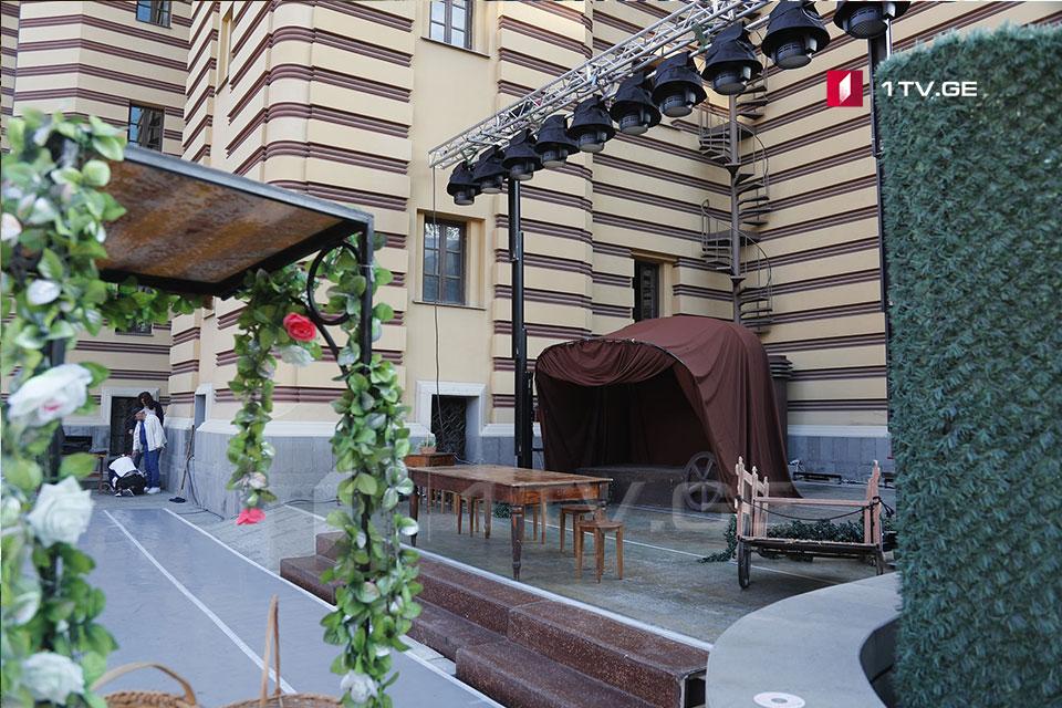 Тбилисы опера æмæ балеты театр спектаклтæ операйы кæрты сыххæст кæндзæн (фото)
