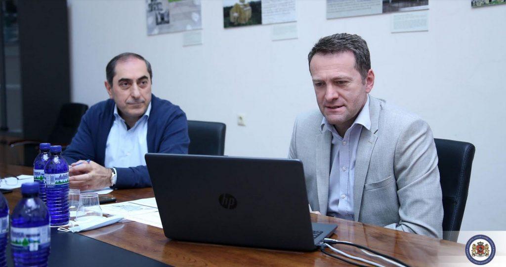 ვლადიმერ კონსტანტინიდმააშშ-ში მოქმედი ქართული დიასპორული ორგანიზაციების ხელმძღვანელებთან ონლაინ შეხვედრა გამართა