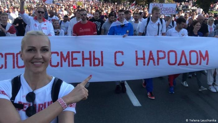 Belarusian sportsmen demand from International Olympic Committee to stop financing the national Olympic committee