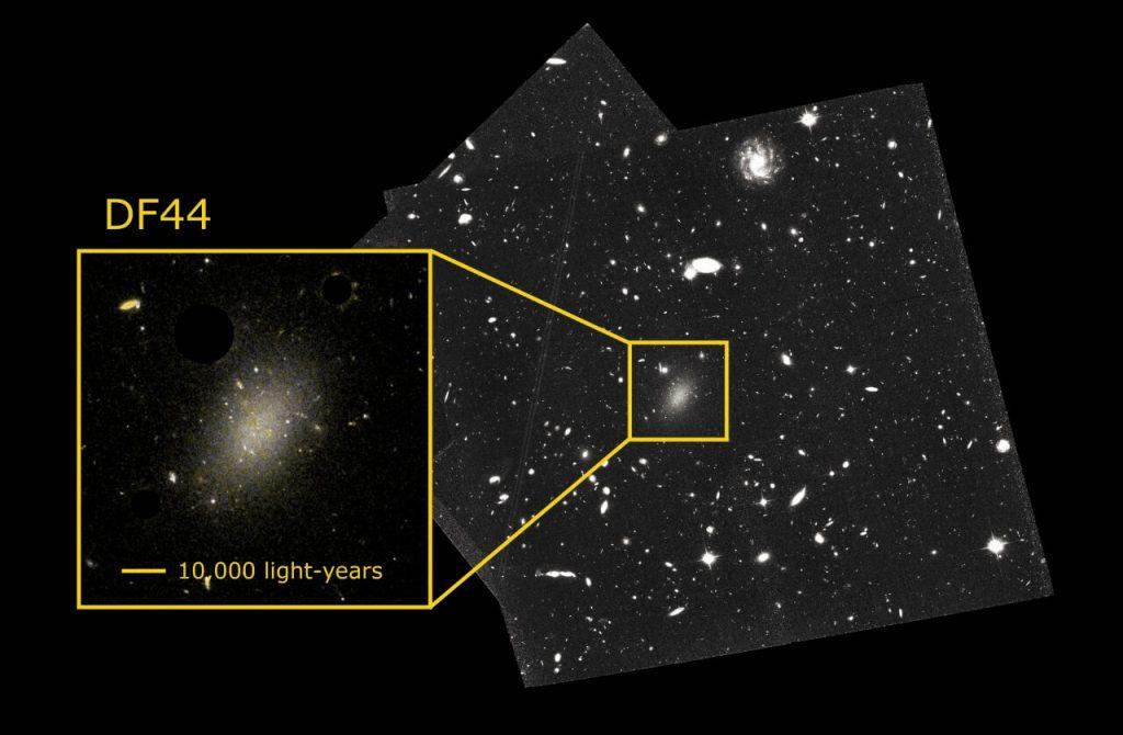 99,9 პროცენტით ბნელი მატერიისგან შემდგარი უცნაური გალაქტიკის საიდუმლო ამოხსნილია — #1tvმეცნიერება
