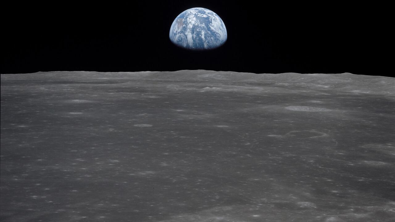 მთვარემ ადრეული დედამიწის ატმოსფერო მზის რადიაციის მიერ განადგურებისგან დაიცვა — ახალი კვლევა #1tvმეცნიერება