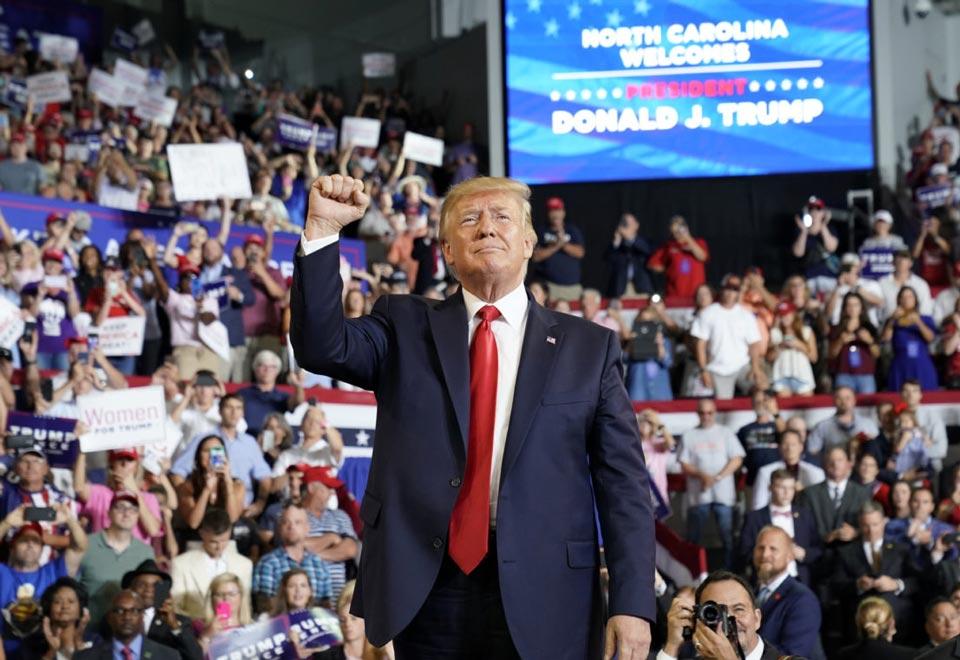 დონალდ ტრამპი - მე მსოფლიოში ყველაზე ცუდ პრეზიდენტობის კანდიდატს ვუპირისპირდები