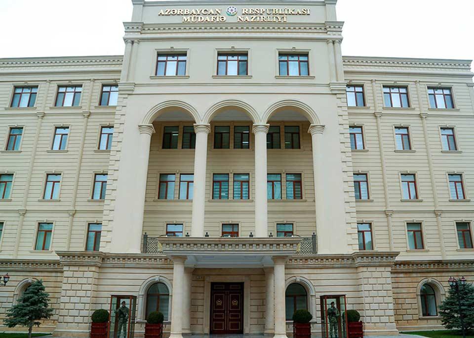 Ադրբեջանի պաշտպանության նախարարության տեղեկությամբ, Հայաստանի զինված ուժերը խախտել են հրադադարի ռեժիմը
