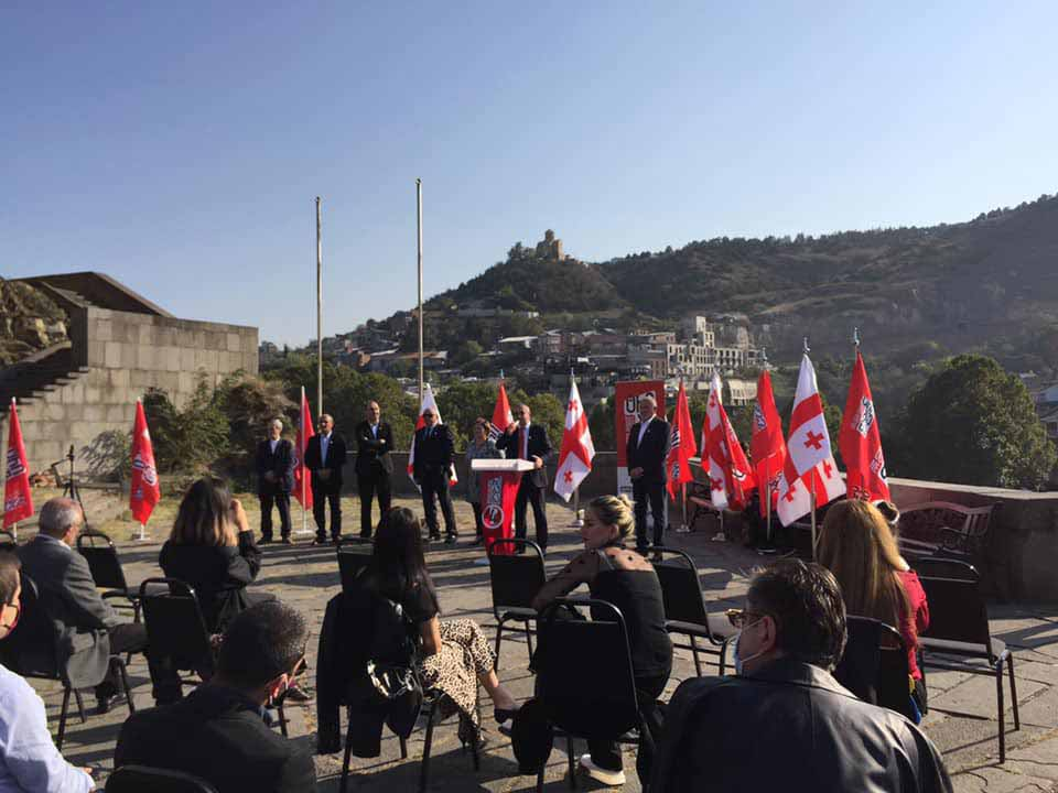"""მოძრაობამ """"ტრიბუნა"""" თბილისში მაჟორიტარობის კანდიდატები წარადგინა"""