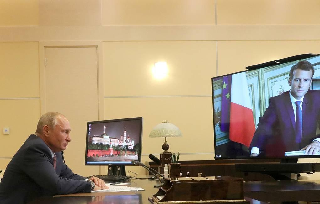 მთიან ყარაბაღში არსებულ ვითარებაზე საფრანგეთისა და რუსეთის პრეზიდენტებმა ისაუბრეს