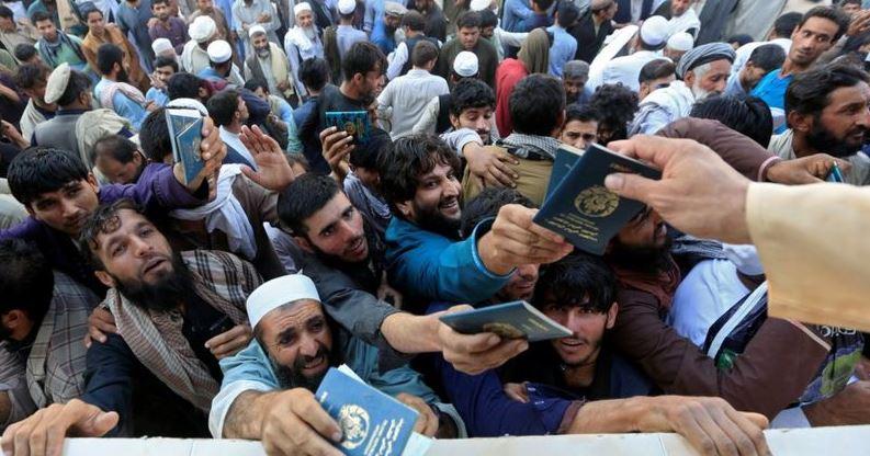 ავღანეთში პაკისტანის ვიზის მისაღებ რიგში, ჭყლეტის შედეგად, 11 ადამიანი გარდაიცვალა