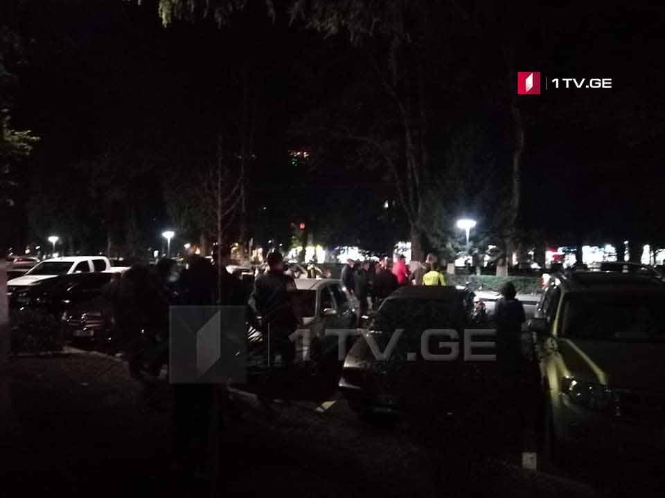 Incident at Bank of Georgia in Zugdidi