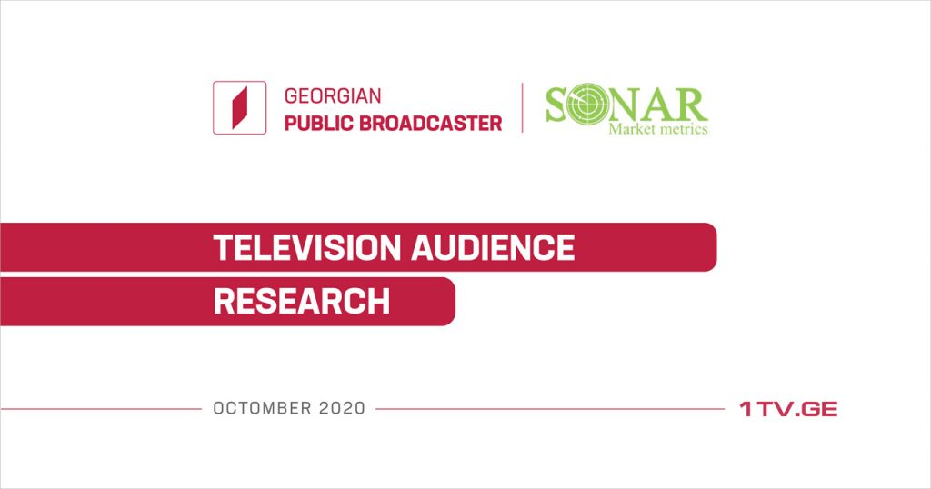 GPB publishes results of TV audience research