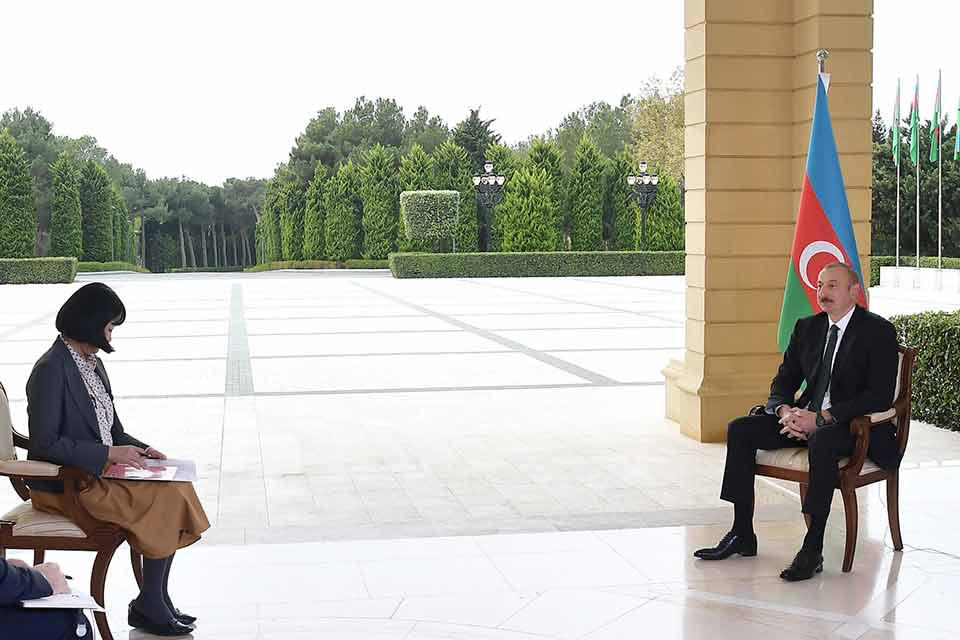 President of Azerbaijan said in an interview with Japan's Nikkei newspaper that Azerbaijan-Georgia cooperation is on high level