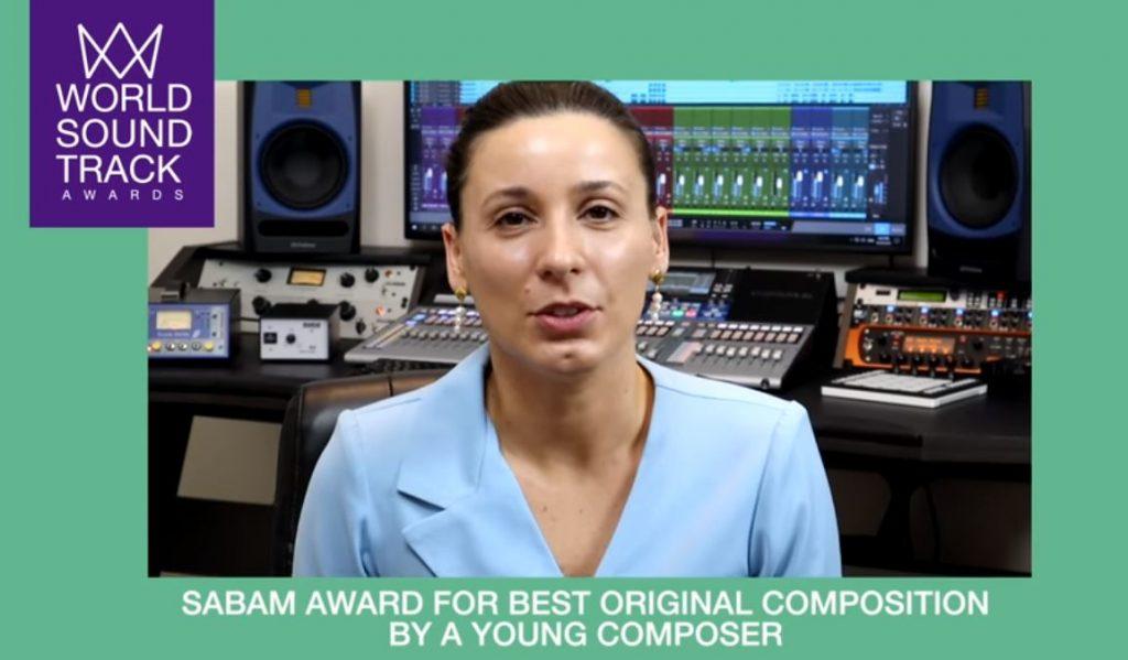 ანა ქასრაშვილი საერთაშორისო კონკურსის World Soundtrack Awards-ის ერთ-ერთი გამარჯვებული გახდა