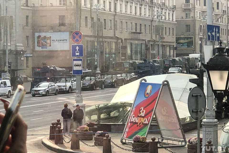 Բելառուսի մայրաքաղաքում ընթանում է նախագահ Ալեքսանդր Լուկաշենկոյի հրաժարականի պահանջով բողոքի ցույց