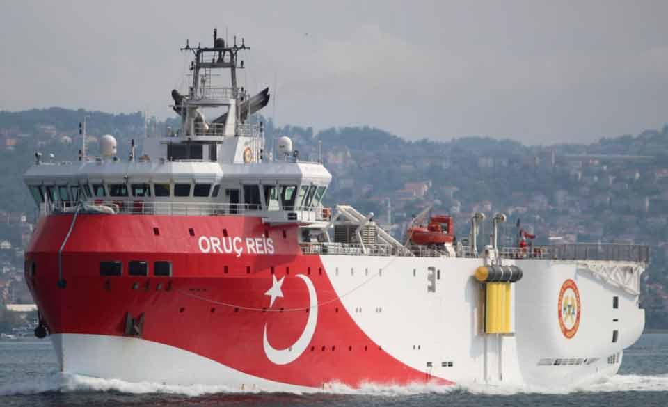 თურქეთი აღმოსავლეთ ხმელთაშუა ზღვაში სეისმურ კვლევას 4 ნოემბრამდე გაახანგრძლივებს