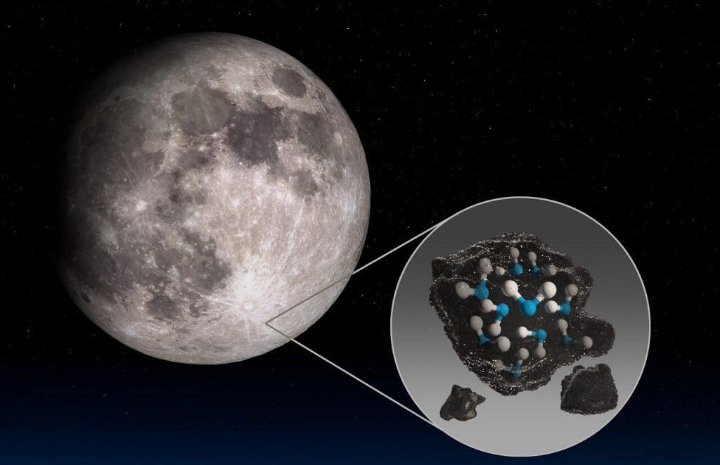 NASA-მ მთვარეზე წყლის არსებობა საბოლოოდ დაადასტურა — #1tvმეცნიერება