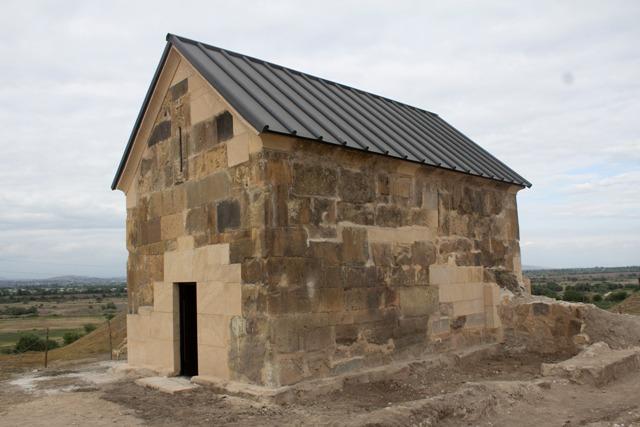 ქვემო არქევანში დარბაზული ეკლესიის რეაბილიტაცია განხორციელდა