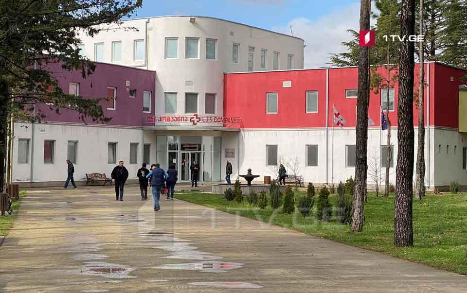 Kutaisi İnfeksiya Xəstəxanasına koronavirusa yoluxan 12 pasiyent yerləşdirildi