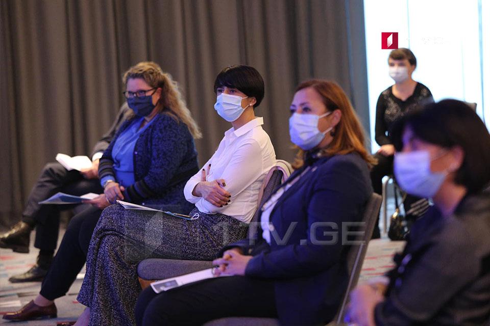 Tinatin Berdzenishvili attended the event dedicated to the UN anniversary