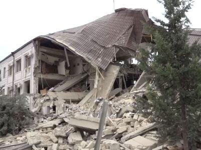 Չճանաչված Լեռնային Ղարաբաղի ներկայացուցիչները հաղորդում են Շուշի քաղաքի ռմբակոծության մասին