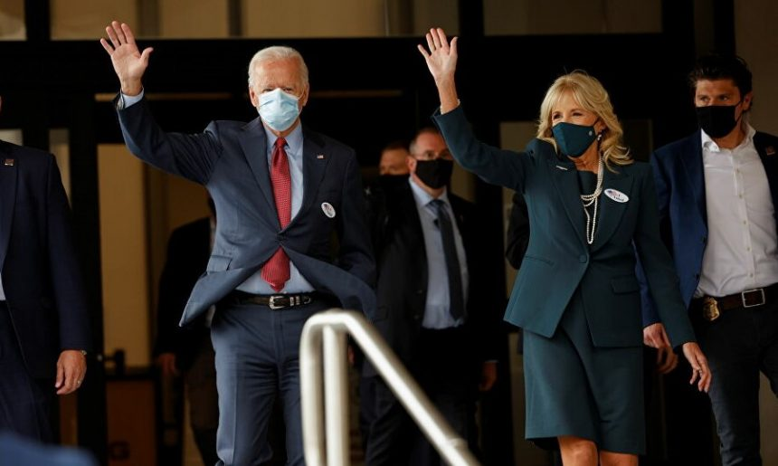 აშშ-ის პრეზიდენტობის კანდიდატმა ჯო ბაიდენმა ხმის მიცემის წინასწარი უფლებით ისარგებლა