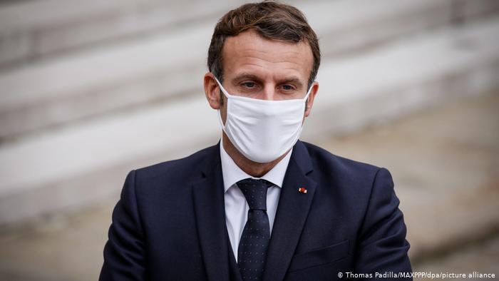 Emmanuel Makron Fransada wmumxalq karantin elan etdi