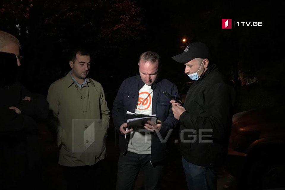 """პარტია """"პროგრესული საქართველოს"""" გენერალური მდივანი მის მიმართ შესაძლო მუქარის ფაქტთან დაკავშირებით პოლიციაში გამოიკითხა"""