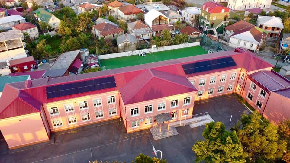ბათუმის 13 საჯარო სკოლა მზის ელექტროსადგურებით აღიჭურვება