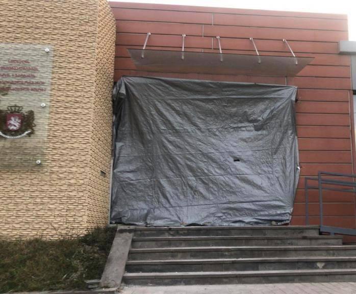 სოფელ ნუკრიანში, მერის წარმომადგენლის შენობაში აფეთქება მოხდა