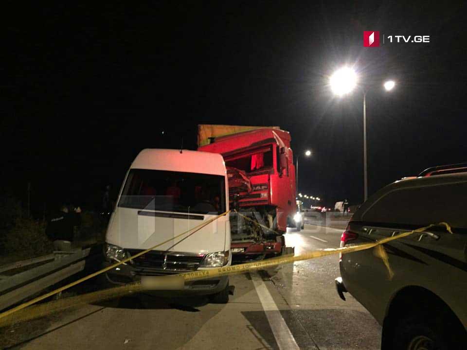 გორთან მომხდარ ავტოსაგზაო შემთხვევასთან დაკავშირებით თურქეთის მოქალაქე დააკავეს