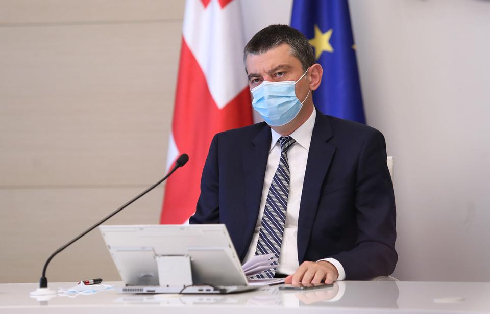 Georgian Prime Minister recovers from coronavirus