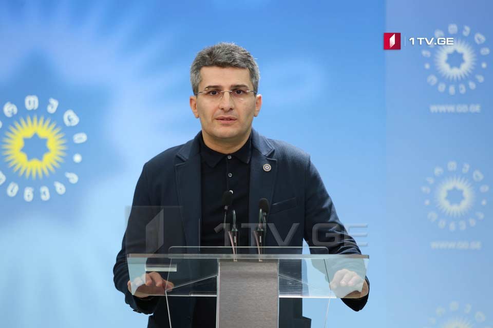 Mamuka Mdinaradze calls on voters to come to polling stations on November 21