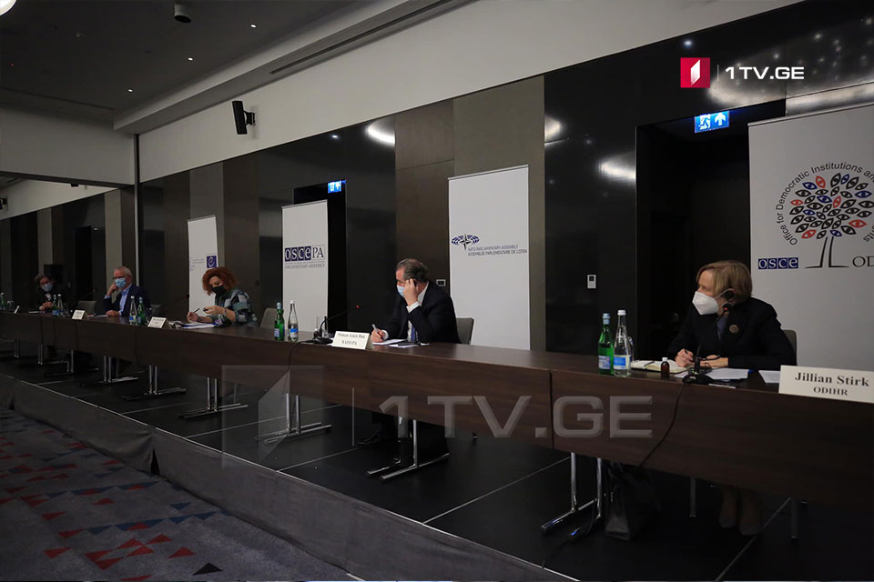 OSCE /ODIHR Observation Mission: Georgian First Channel's tone of coverage was mostly neutral