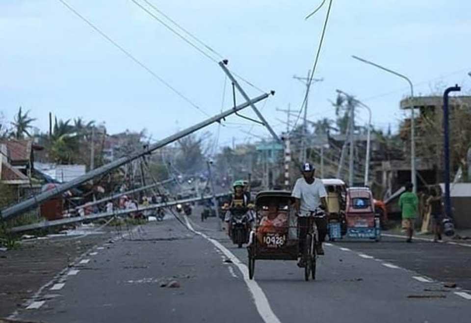ფილიპინებში ტაიფუნს სულ მცირე 16 ადამიანი ემსხვერპლა