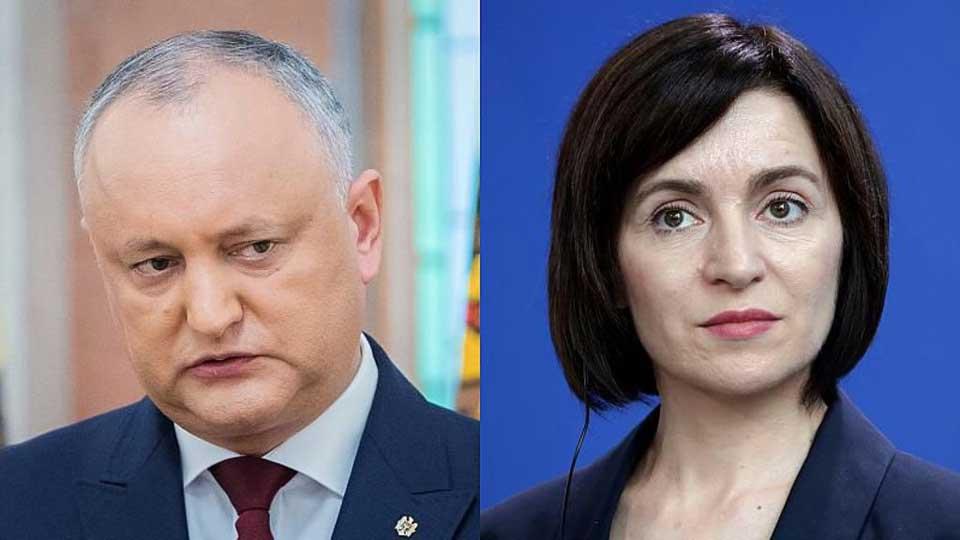 Moldova prezident seçkilərində keçmiş baş nazir, Maya Sandu 35.61 faiz ilə liderlik edir