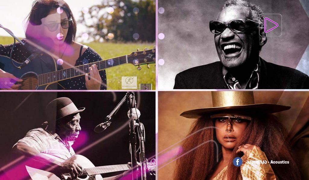 რადიო აკუსტიკა - სიმღერები ერიკა ბადუს შესრულებით