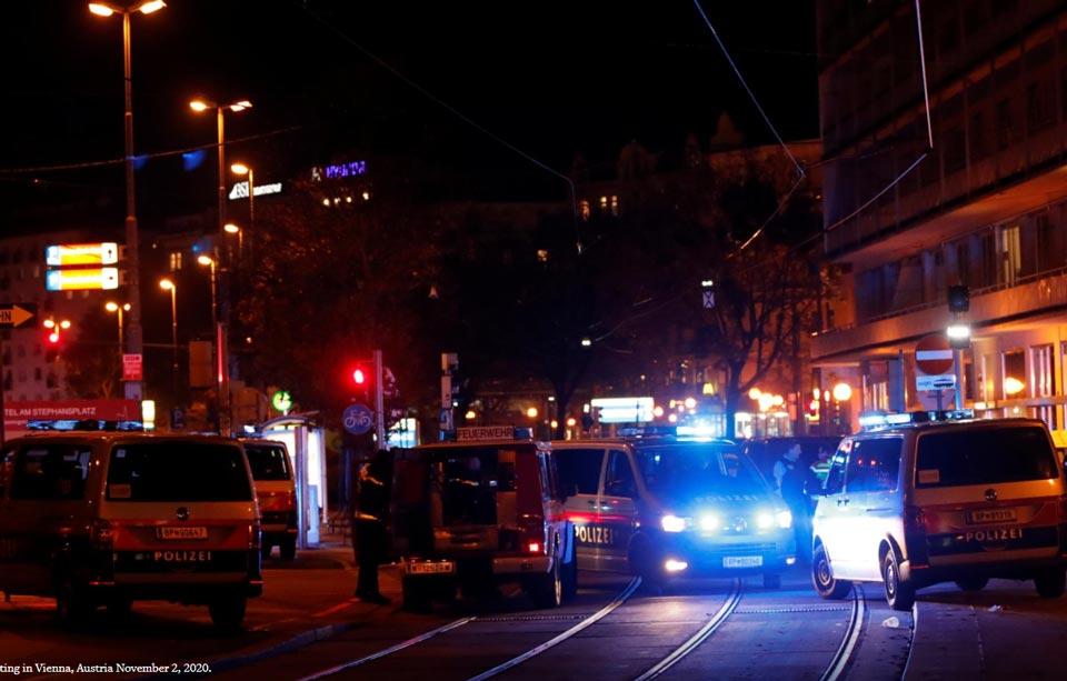 ქალაქ ვენის ცენტრში თავდასხმა მოხდა, არიან დაჭრილები