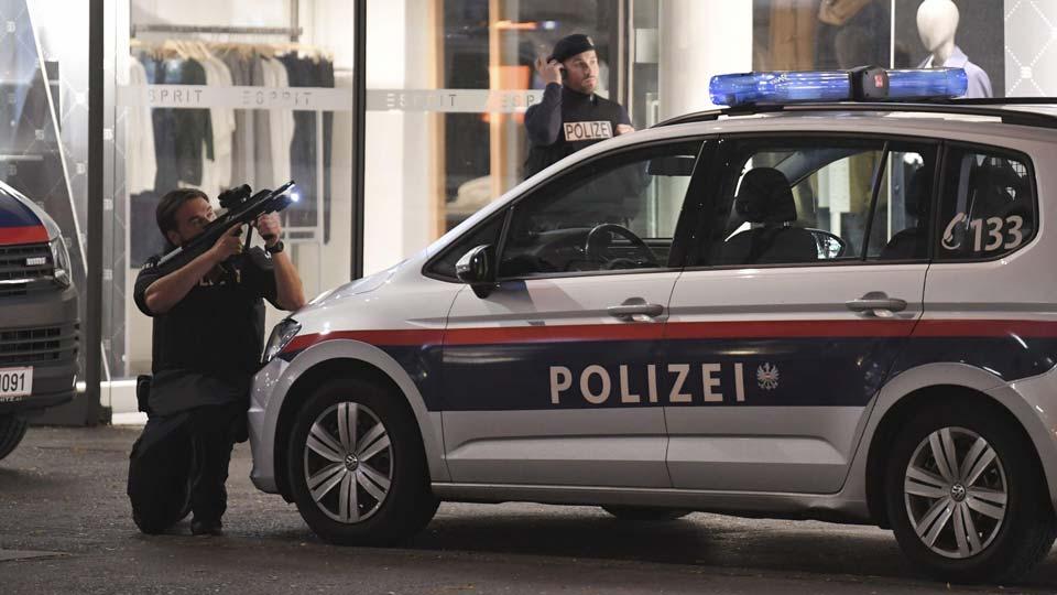 Avstriya polisinin məlumatına görə, terror hücumunun əsas şübhəlisi Şimali Makedoniyalı kişidir