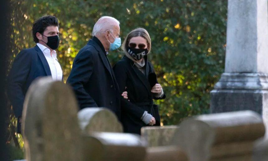 ჯო ბაიდენმა არჩევნების დღე დელავერში, კათოლიკურ ეკლესიაში მისვლით დაიწყო