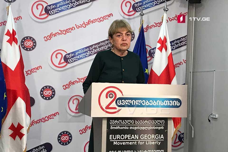 Хатуна Гогоришвили - Фальсификация выборов никому не сойдет с рук, это не были выборы и выражение воли грузинского народа