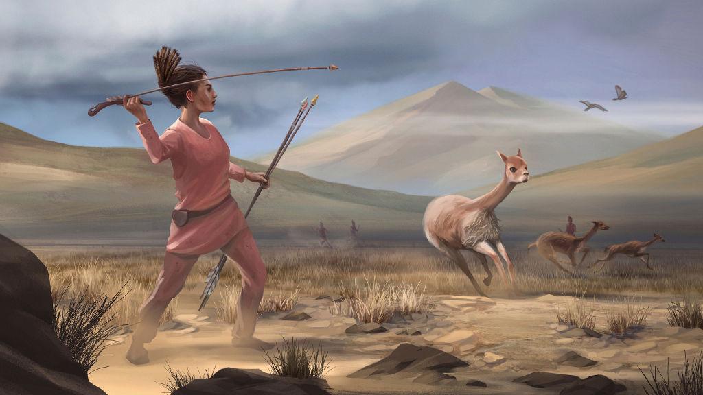 პერუში 9000 წლის წინანდელი მონადირე ქალის სამარხი აღმოაჩინეს — #1tvმეცნიერება
